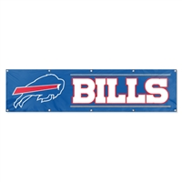 Buffalo Bills NFL 8' x 2' Giant Banner
