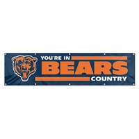 Chicago Bears NFL 8' x 2' Giant Banner