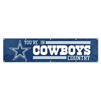 Dallas Cowboys NFL 8' x 2' Giant Banner