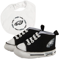 Philadelphia Eagles NFL Infant Bib and Shoe Gift Set