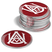 Alabama A&M University 12 Pack Collegiate Ball Markers
