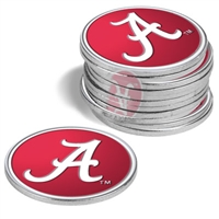 Alabama Crimson Tide 12 Pack Collegiate Ball Markers