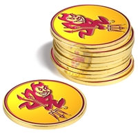 Arizona State Sun Devils 12 Pack Collegiate Ball Markers