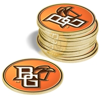 Bowling Green State Falcons 12 Pack Collegiate Ball Markers