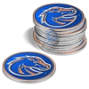 Boise State Broncos 12 Pack Collegiate Ball Markers