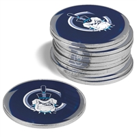 Citadel Bulldogs 12 Pack Collegiate Ball Markers