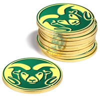 Colorado State Rams 12 Pack Collegiate Ball Markers