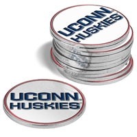 Connecticut Huskies 12 Pack Collegiate Ball Markers