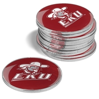 Eastern Kentucky Colonels 12 Pack Collegiate Ball Markers