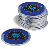 East Tennessee State Buccaneers 12 Pack Collegiate Ball Markers