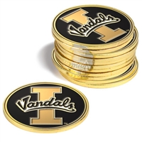 Idaho Vandals 12 Pack Collegiate Ball Markers