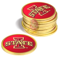 Iowa State Cyclones 12 Pack Collegiate Ball Markers