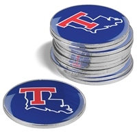 Louisiana Tech Bulldogs 12 Pack Collegiate Ball Markers
