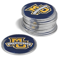 Marquette Golden Eagles 12 Pack Collegiate Ball Markers