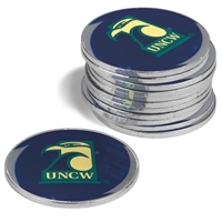North Carolina Wilmington Seahawks 12 Pack Collegiate Ball Markers