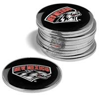 New Mexico Lobos 12 Pack Collegiate Ball Markers