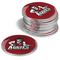 New Mexico State Aggies 12 Pack Collegiate Ball Markers