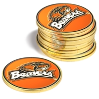 Oregon State Beavers 12 Pack Collegiate Ball Markers