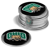 Ohio Bobcats 12 Pack Collegiate Ball Markers