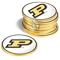 Purdue Boilermakers 12 Pack Collegiate Ball Markers