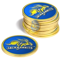 South Dakota State Jackrabbits 12 Pack Collegiate Ball Markers