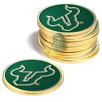 South Florida Bulls 12 Pack Collegiate Ball Markers