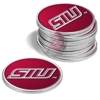 Southern Illinois Salukis  12 Pack Collegiate Ball Markers