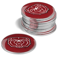 Missouri State Bears 12 Pack Collegiate Ball Markers