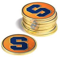 Syracuse Orange 12 Pack Collegiate Ball Markers