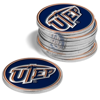 UTEP Miners 12 Pack Collegiate Ball Markers