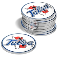 Tulsa Golden Hurricane 12 Pack Collegiate Ball Markers