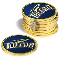 Toledo Rockets 12 Pack Collegiate Ball Markers