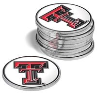 Texas Tech Red Raiders12 Pack Collegiate Ball Markers