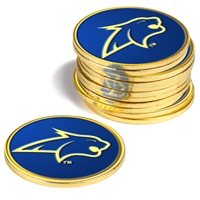 Montana State Bobcats 12 Pack Collegiate Ball Markers