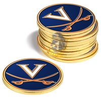 Virginia Cavaliers 12 Pack Collegiate Ball Markers