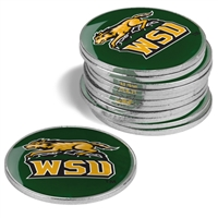 Wright State Raiders 12 Pack Collegiate Ball Markers