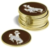 Wyoming Cowboys 12 Pack Collegiate Ball Markers
