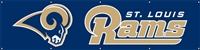 St. Louis Rams NFL 8' x 2' Giant Banner
