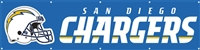 San Diego Chargers NFL 8' x 2' Giant Banner