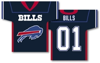 "Buffalo Bills Jersey Banner 34"" x 30"" - 2-Sided"