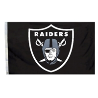 Oakland Raiders 3 Ft. X 5 Ft. Flag W/Grommetts