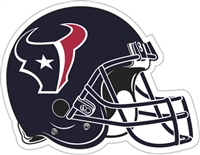 "Houston Texans 12"" Vinyl Magnet"