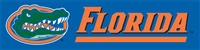 Florida Gators 8' x 2' Giant Banner