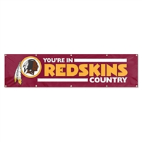 Washington Redskins NFL 8' x 2' Giant Banner