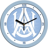 "Alabama A&M Bulldogs 12"" Wall Clock - Blue"