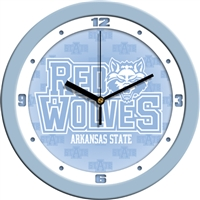 "Arkansas State Red Wolves 12"" Wall Clock - Blue"