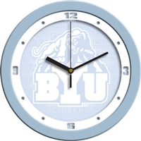 "Brigham Young Cougars 12"" Wall Clock - Blue"