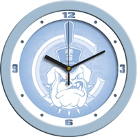 "Citadel Bulldogs 12"" Wall Clock - Blue"