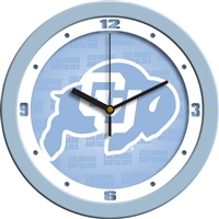 "Colorado Buffaloes 12"" Wall Clock - Blue"