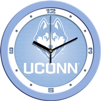 "Connecticut Huskies UCONN 12"" Wall Clock - Blue"